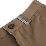 DETAILS EXTRA SHORTS-DARK BROWN