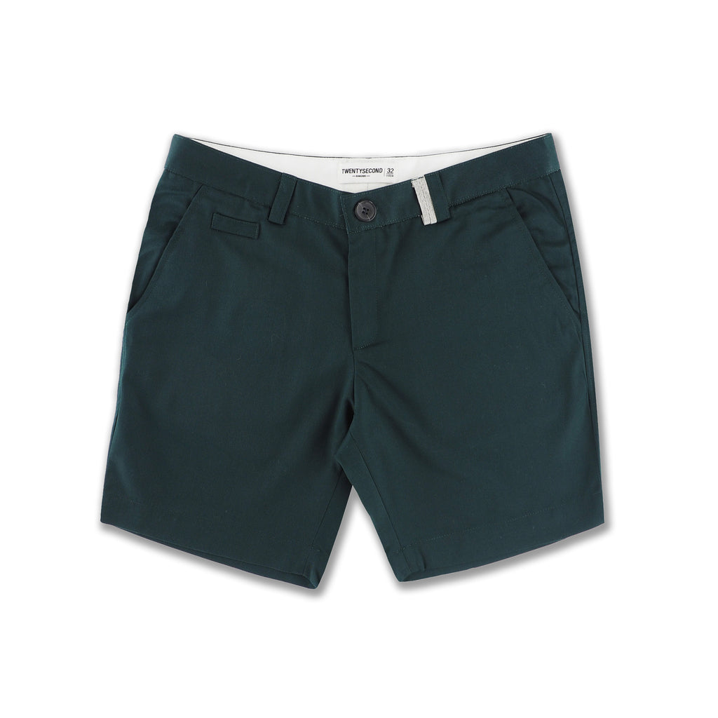DETAILS EXTRA SHORTS-DARK GREEN