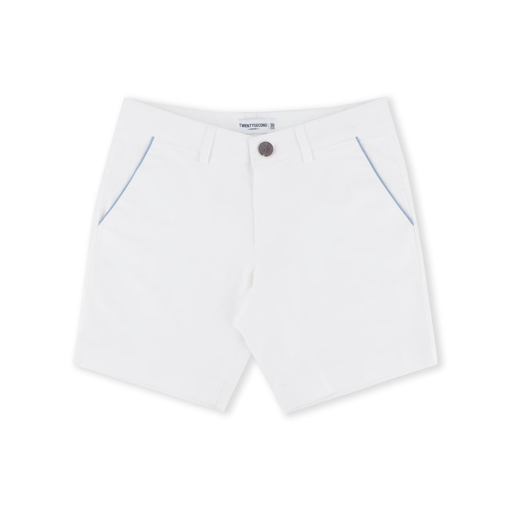 EXTRA SHORTS WHITE STRIPE
