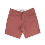 BASIC CHINO SHORTS-PEACH