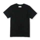 CLASSIC POCKET TEES : BLACK