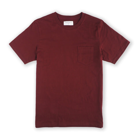 CLASSIC POCKET TEES - RED