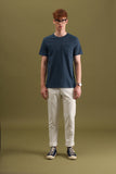 CLASSIC POCKET TEES : STEEL BLUE