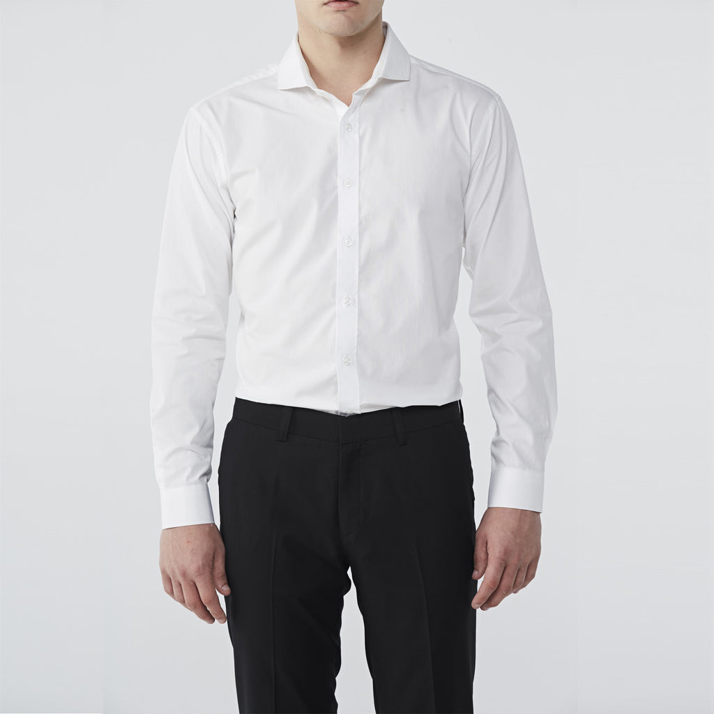 Italian Wool Tailor Pant :Black
