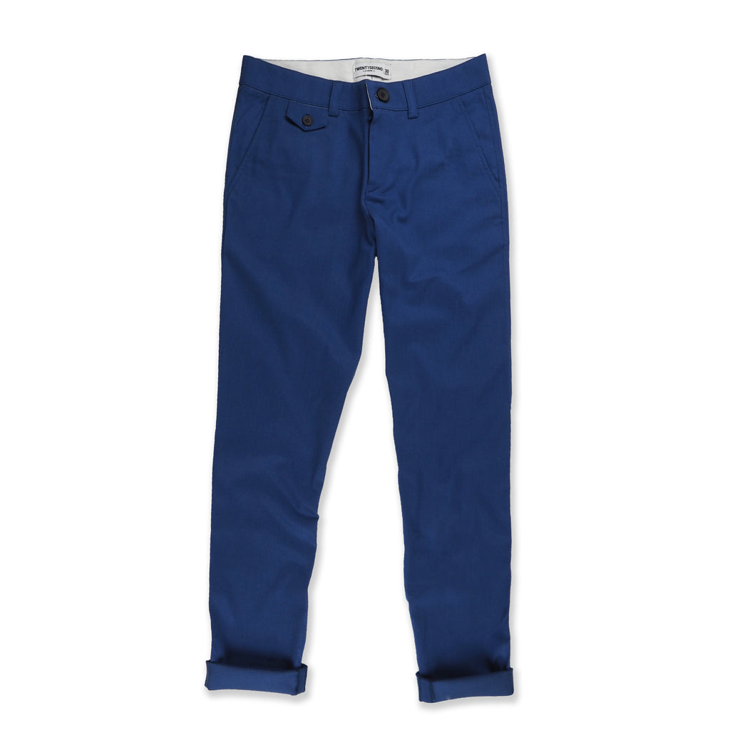 Denim tapered pants : Blue