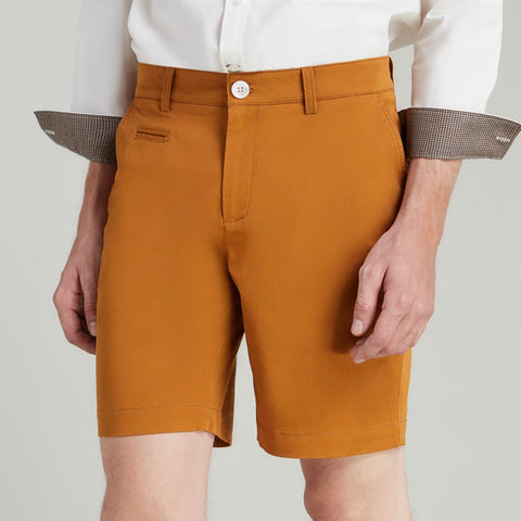 BILL REGULAR SHORTS - MUSTARD