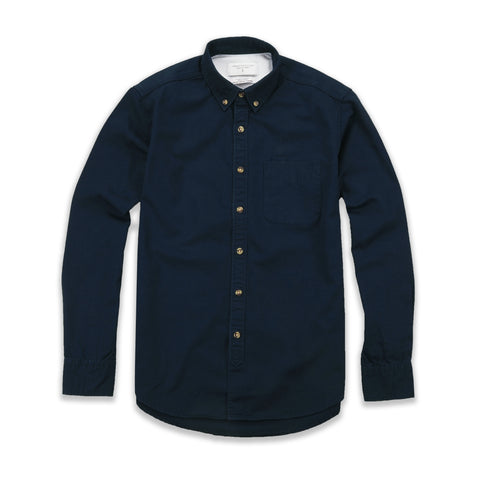 TWILL WORK SHIRT - DARK BLUE