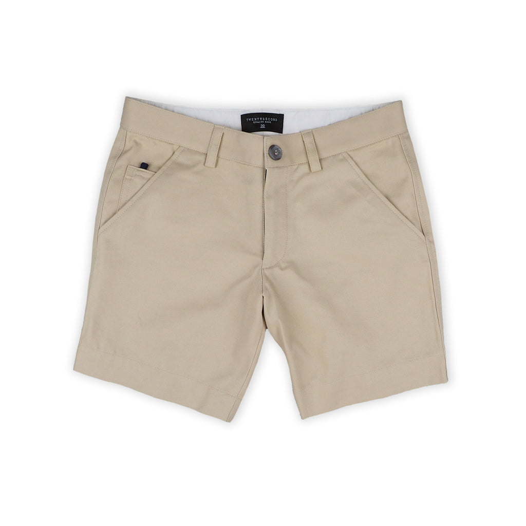 MATT KHAKI SHORTS - EXTRA CHINO SHORTS