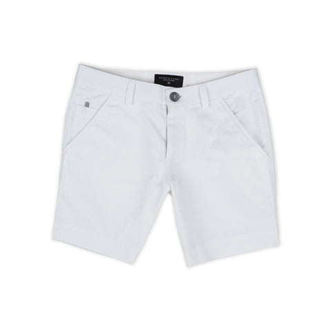 MATT CHINO SHORTS - WHITE (EXTRA SHORTS)