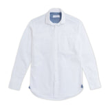 WEEKEND CHAMBRAY SHIRT - WHITE
