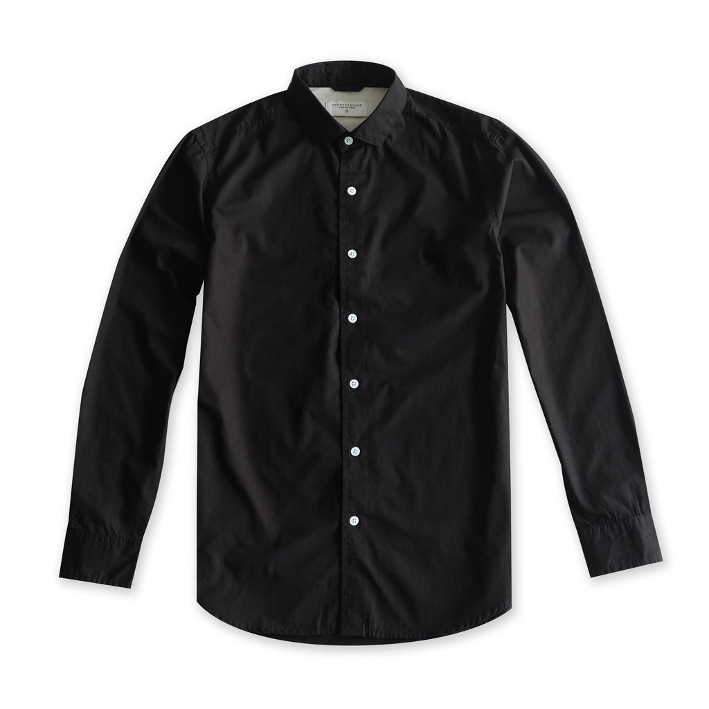 STANDARD COTTON SHIRT - BLACK