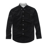 OXFORD RIBBON SHIRT - BLACK