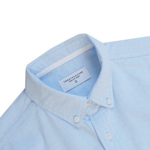 WILL OXFORD SHIRT - BLUE