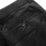 VIKTOR CHINO SHORTS - BLACK (REGULAR SHORTS)