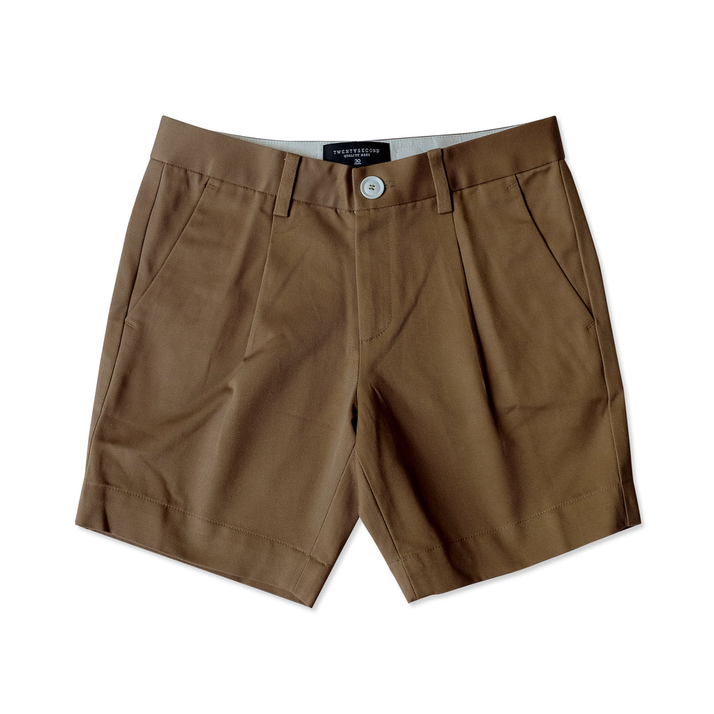 RALPH CHINO SHORTS - BROWN
