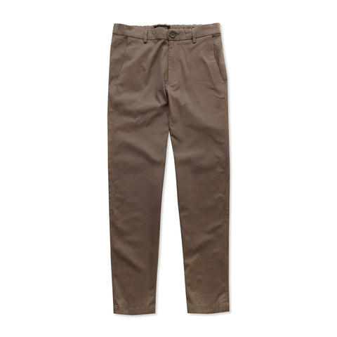 Straight-Fit Cotton Twill Chinos : Maroon