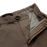 STRETCH CHINO PANTS - BROWN