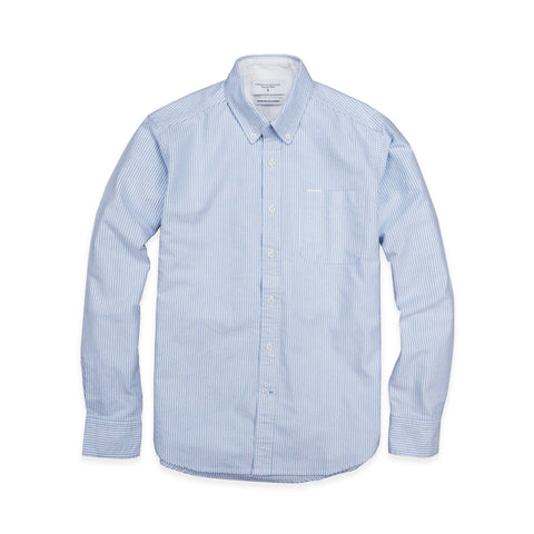 BROOK OXFORD SHIRT - BLUE STRIPE