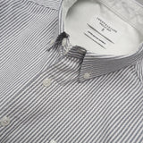 BROOK OXFORD SHIRT - GREY STRIPE