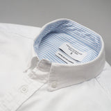 BROOK OXFORD SHIRT - WHITE