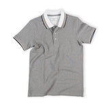 CLAY POLO TEES - GREY