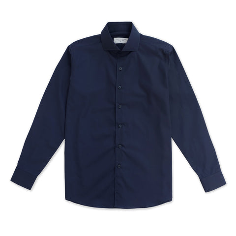 BASIC CUTAWAY COLLAR - DARK BLUE