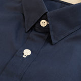 LUKAS COTTON SHIRT - DARK BLUE
