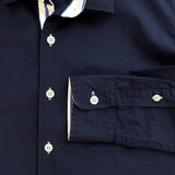 COLE COTTON SHIRT - NAVY