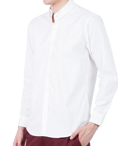 WHITE DOUBLE CHINESE COLLAR