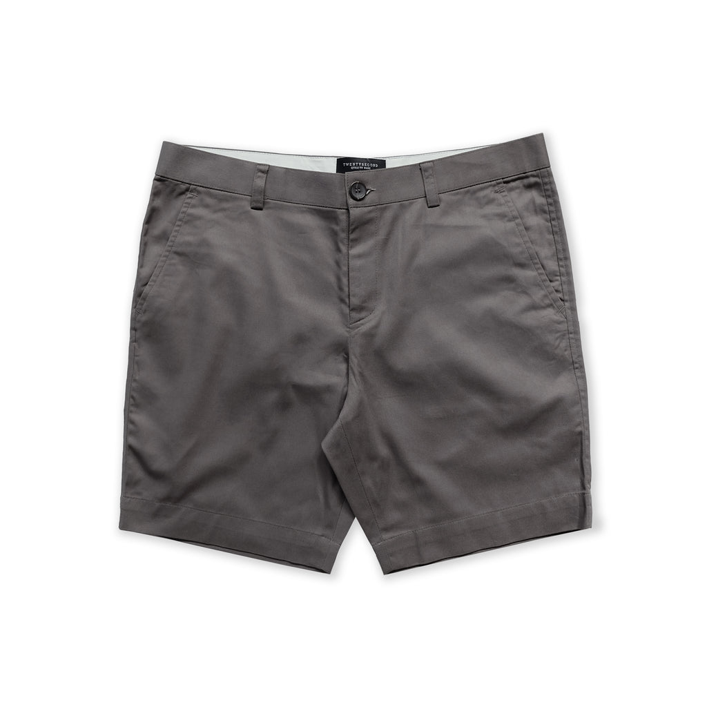 VIKTOR CHINO SHORTS - DARK GREY (REGULAR SHORTS)