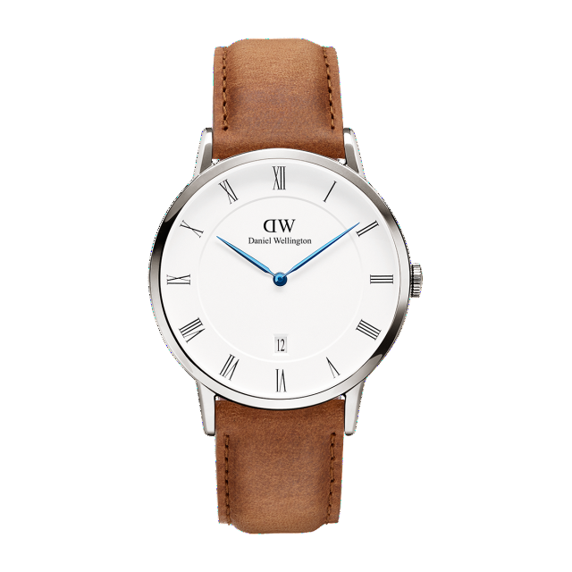 Dapper Durham 38mm Silver