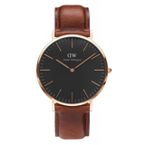 Classic Black St. Mawes 40mm Rose gold