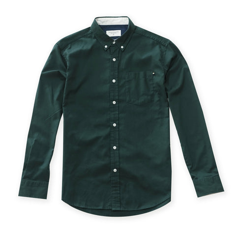 OXFORD RIBBON SHIRT - GREEN