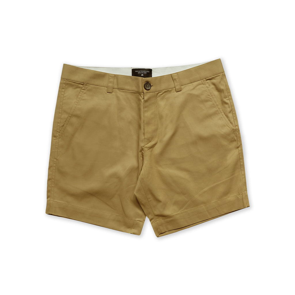 MATT CHINO SHORTS - GOLDEN (EXTRA SHORTS)