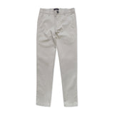 STRETCH CHINO PANTS - GREY