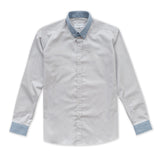 CLOUD TWILL SHIRT - SMOKE GREY