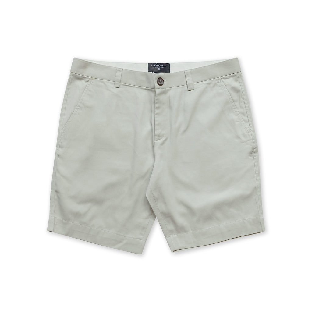 VIKTOR CHINO SHORTS - LIGHT GREY (REGULAR SHORTS)