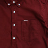 WILL OXFORD SHIRT - MAROON