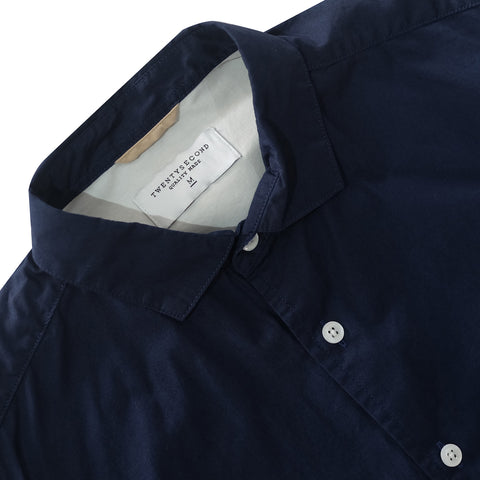 STANDARD COTTON SHIRT - NAVY