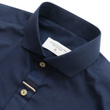 MIDNIGHT COTTON SHIRT - BLUE