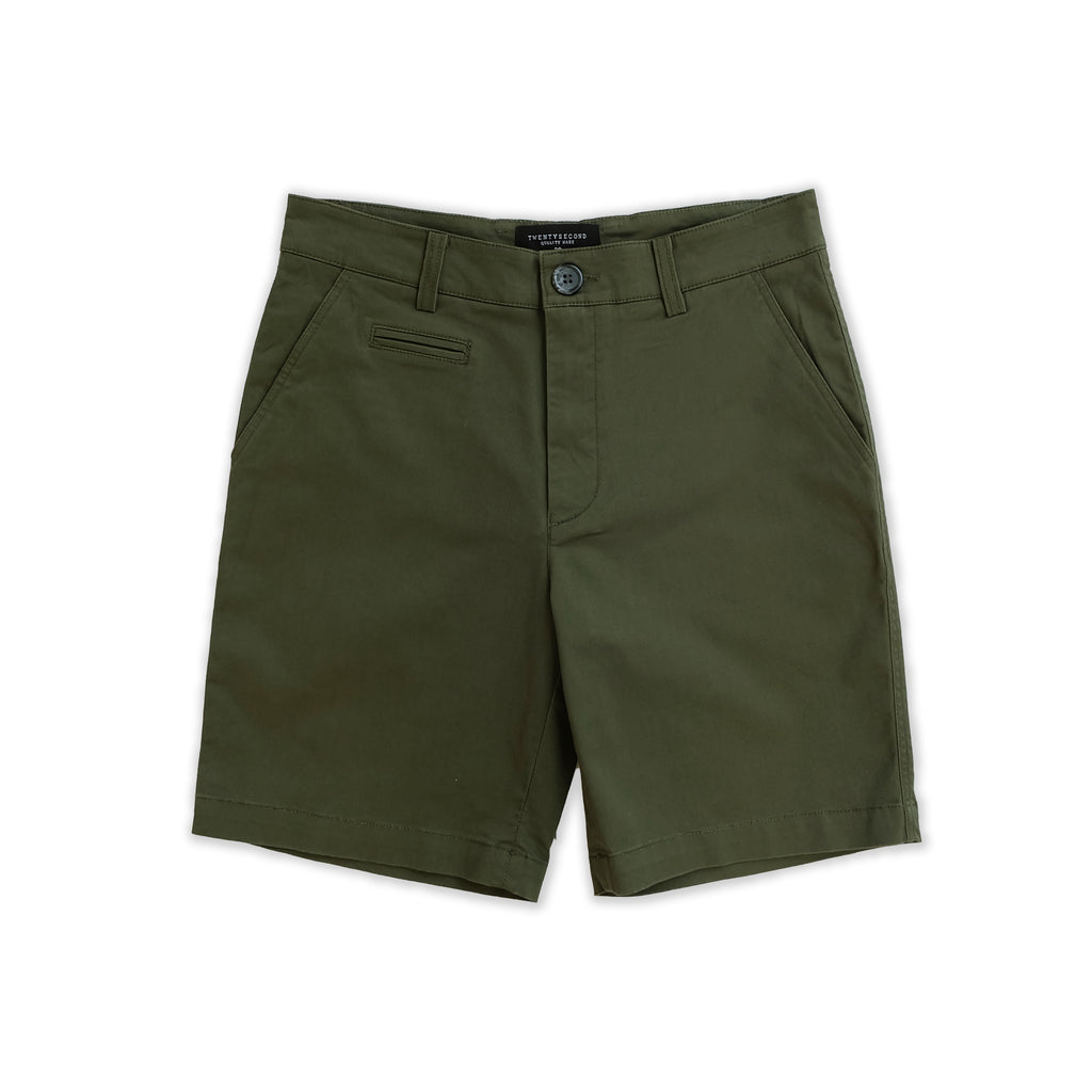 BILL REGULAR SHORTS - OLIVE