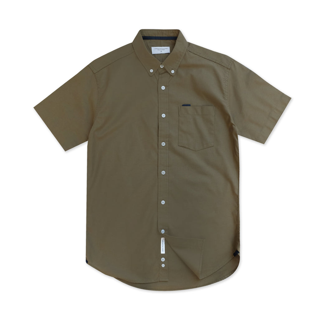 WILL OXFORD SHIRT - OLIVE