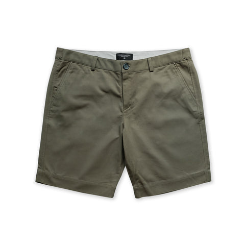 VIKTOR CHINO SHORTS - OLIVE (REGULAR SHORTS)