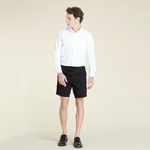 OLIVER RELAXED SHORTS - BLACK