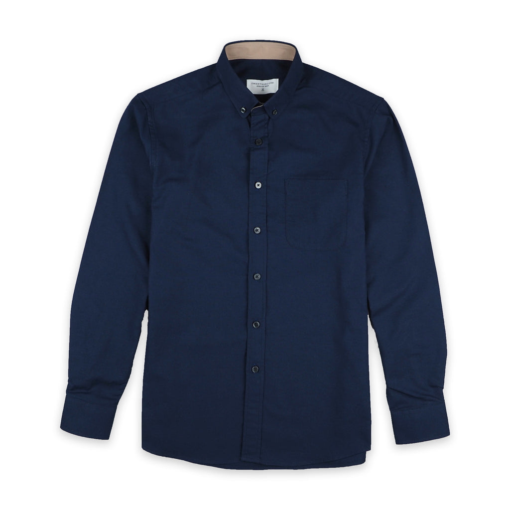 CASUAL OXFORD SHIRT - NAVY