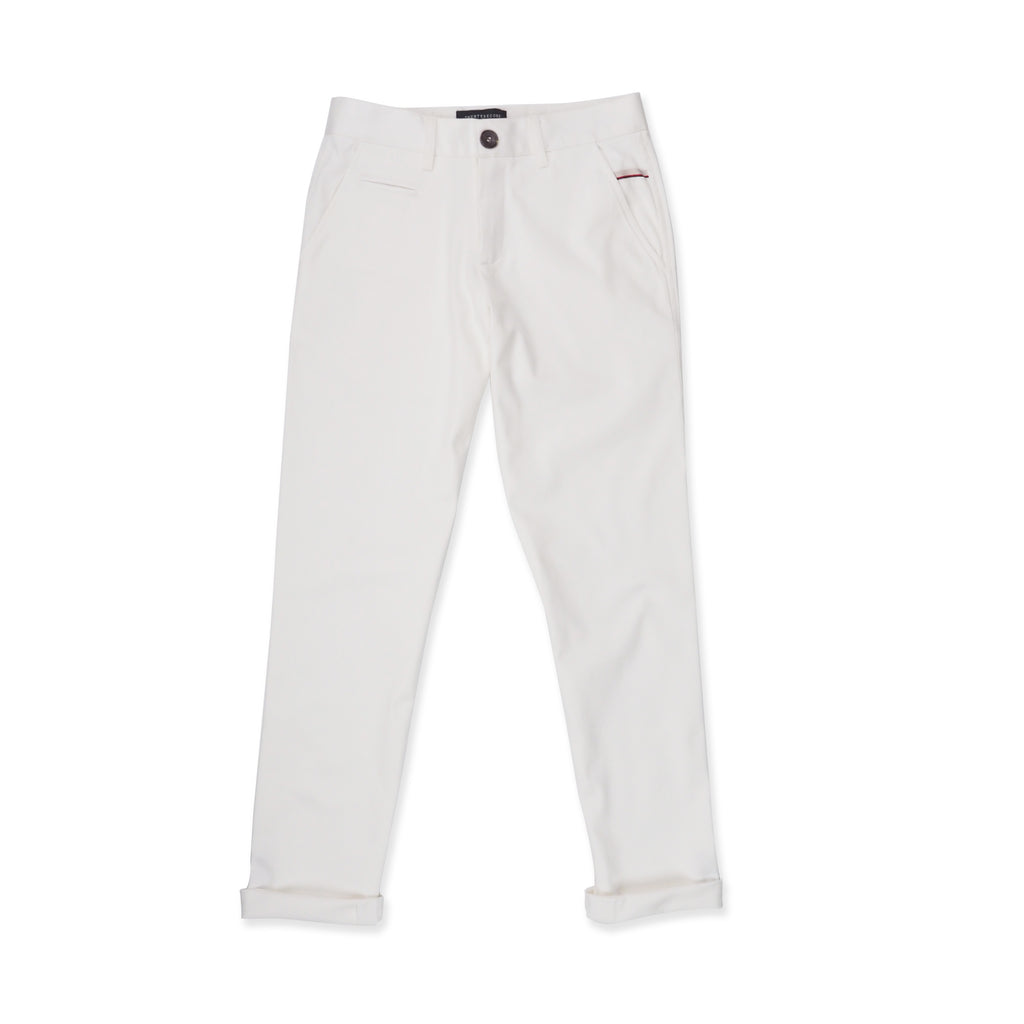 FOSTER CHINO PANTS - WHITE