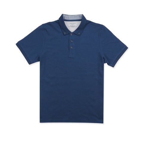 DRIP POLO TEES - BLUE