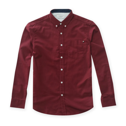 OXFORD RIBBON SHIRT - RED