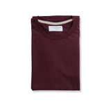 THE BASIC TEE - MAROON