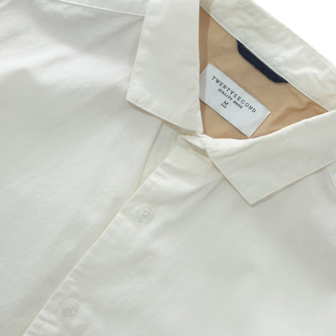 STANDARD COTTON SHIRT - WHITE